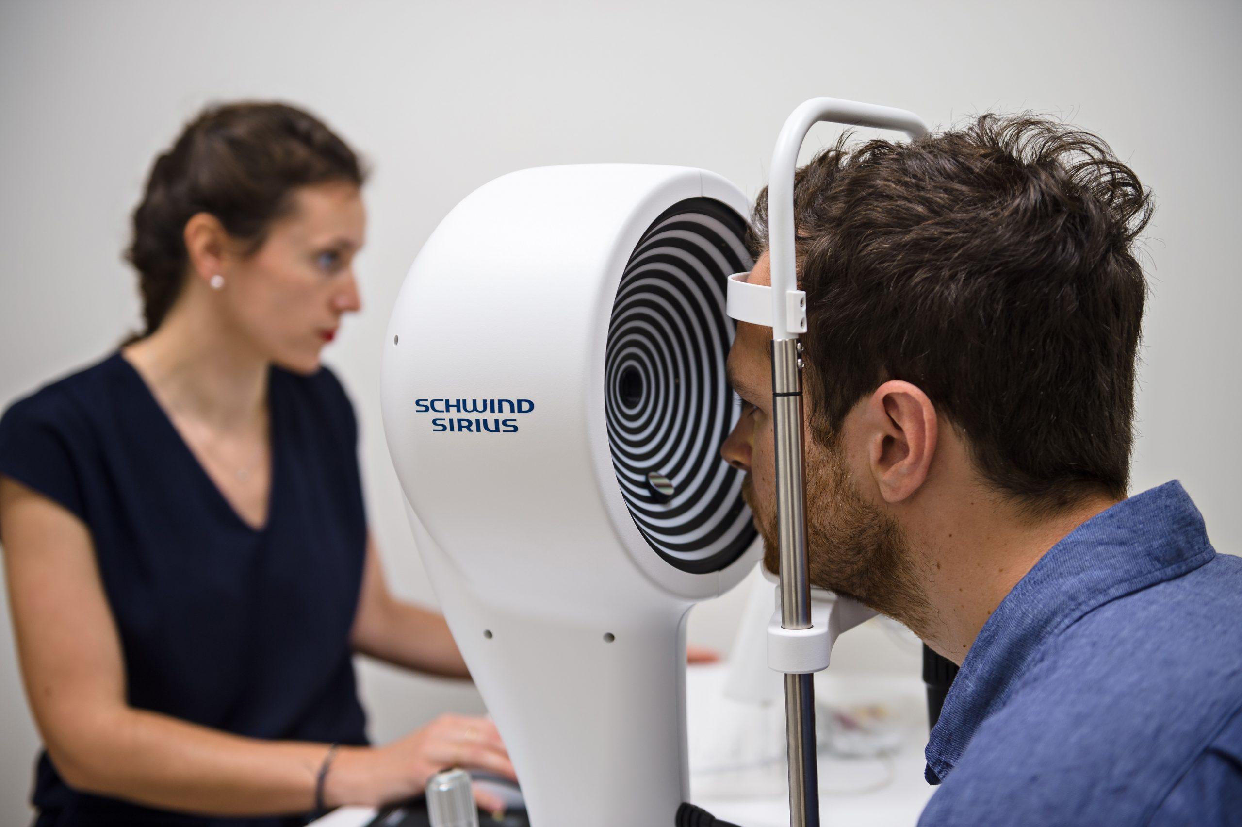 Parc laser vision analyse schwind sirius
