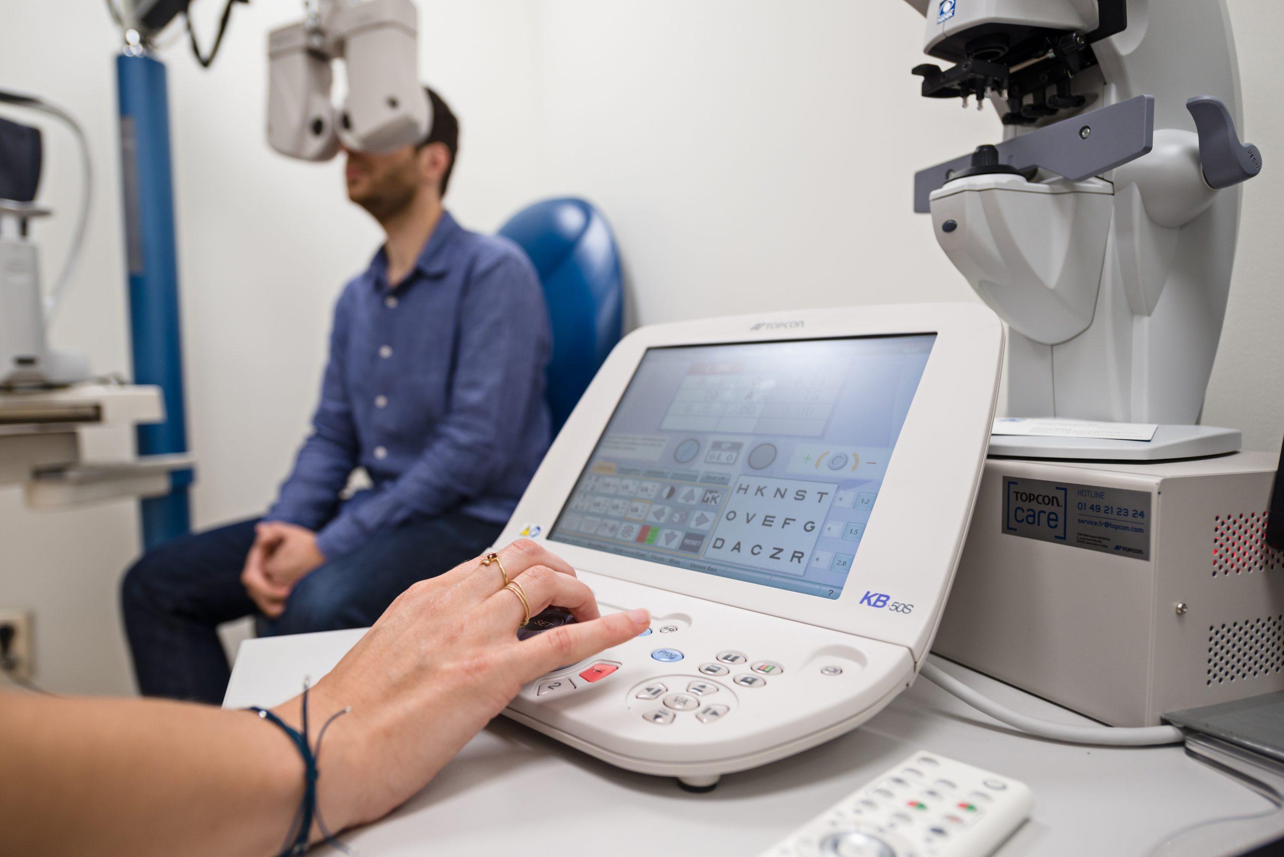 equipements operation des yeux
