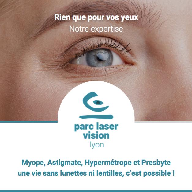 Brochure opération des yeux parc laser vision lyon