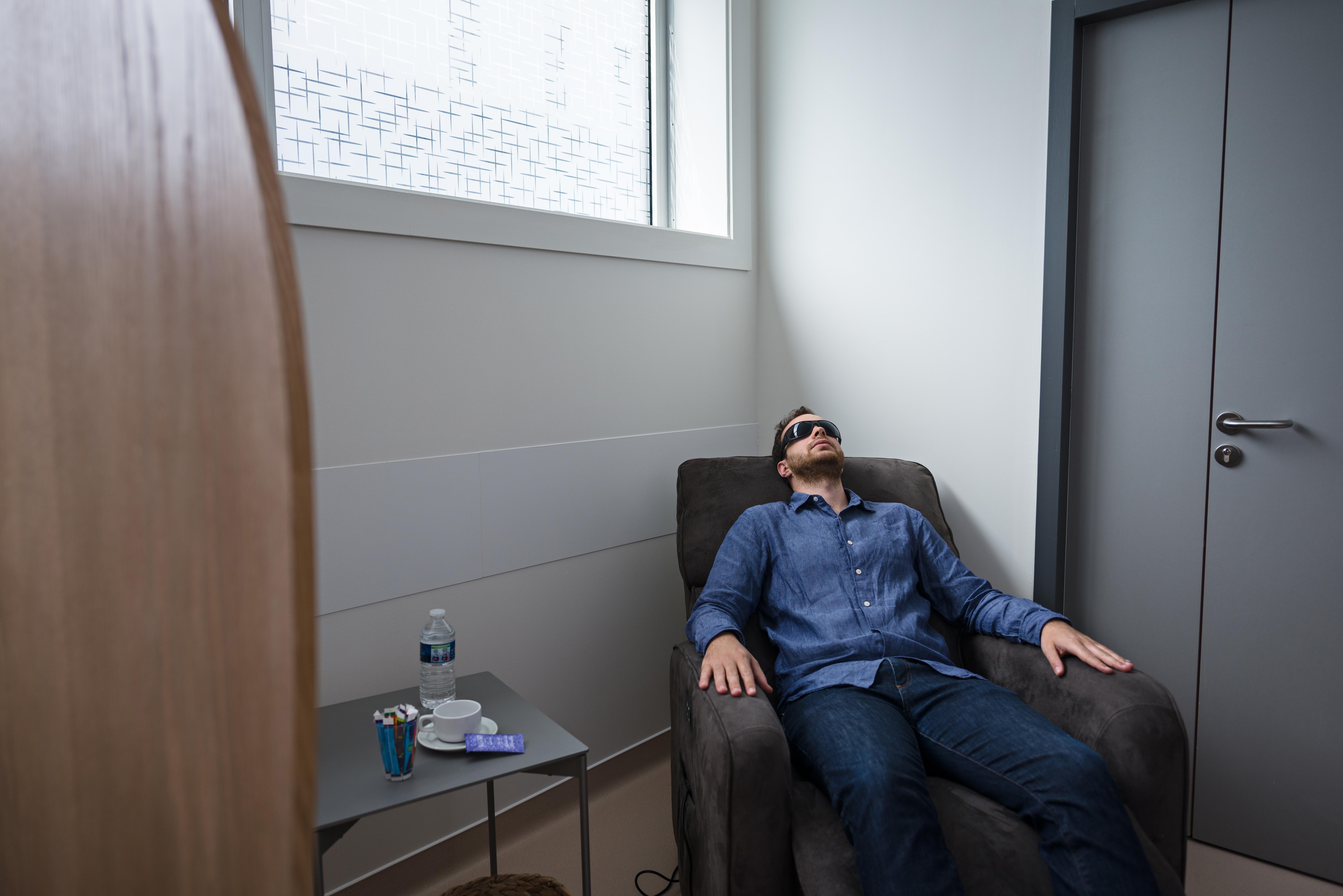 salle de repos Parc Laser Vision